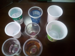 plastic round cups,water cups,yogurt cup