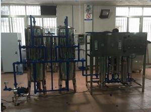 BKRO-2000 2000L/H single grade Ro pure water treatment
