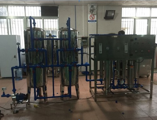 BKRO-2000 2000L/H single grade Ro pure water treatment