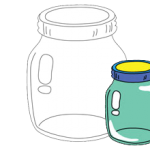 Glass Jar Can