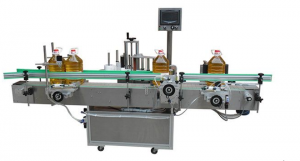 BKAL-180F Edible oil bottle labeling machine adhesive sticker type