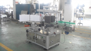 BKAL-BS130 Automatic flat bottle 2-side labeling machine