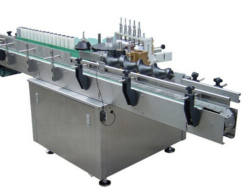 BKAL-Y300D Automatic wet glue round bottle labeling machine