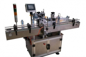 BKALR-110P Automatic positioning type vertical round bottle labeling machine