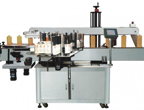 BKALR-110S Single side round &square bottle labeling machine
