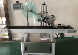 Fully auto Flat top labeling machine