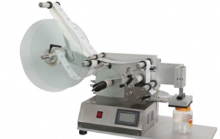 BKSLM-110T table top small labeling machine for flat