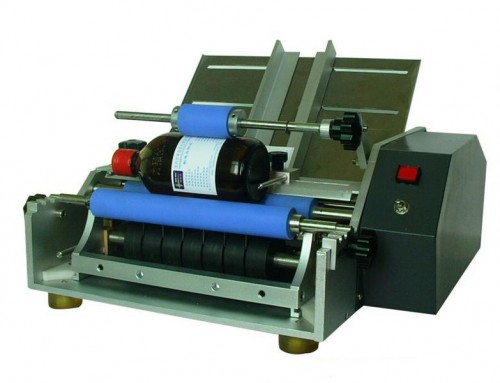 BKSLR-WG Semi auto wet glue grape wine labeling machine