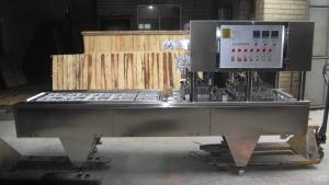 BKAS-250 Full automatic fast food 2-trays sealing machine