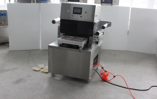 BKAS-450B Automatic Tray Vacuum Gas-flushing Packaging Machine