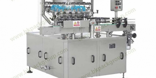 Automatic rotary type bottle washing machine