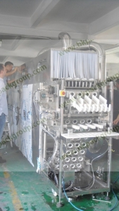 BKAW-DR Automatic glass bottle water washing and drying machine