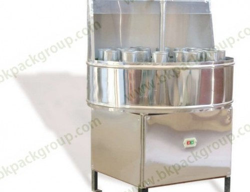BKMW-24 Manual bottle washing machine