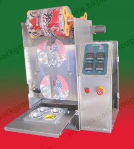 bkss-250-semiautomatic-table-top-fast-food-tray-sealing-machine