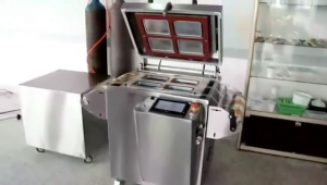 bkss-430-semi-auto-tray-vacuum-sealing-machine-with-gas-flushing
