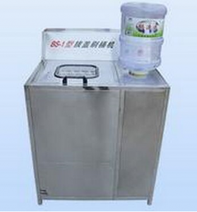 BKSW-5B Semi-Auto 5 Gallon water barrel Brushing and Decapping Machin