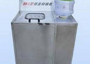 BKSW-5B Semi-Auto 5 Gallon water barrel Brushing and Decapping Machin