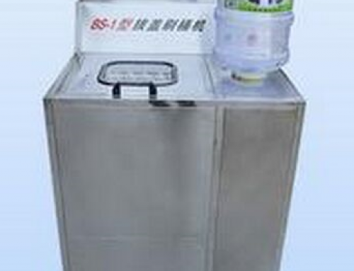 BKSW-5B Semi-Auto 5 Gallon water barrel Brushing and Decapping Machine