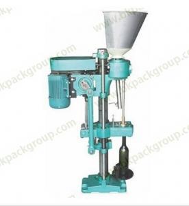 BKSC-1 Semi auto piston sealing machine for red wine