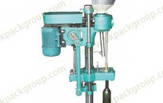 BKSC-1 Semi auto piston sealing machine for red wine