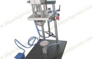 bksc-p-semi-auto-perfume-crimpping-machine