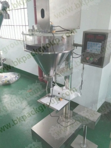 Semi automatic powder filling machine with scale,Manual powder filling machine,tabletop auger filler