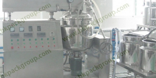 BKTE--50L Small capacity Vacuum emulsifying stir series tank