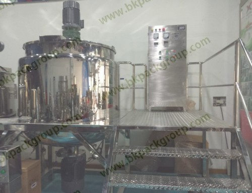 BKTM-1000L Series cleaner soap liquid mixing tank with homogeny