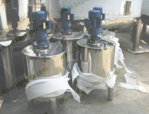 BKTM-100L single layer mixing tank for liquid or paste