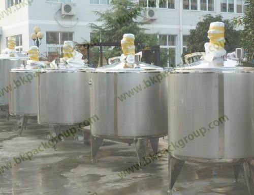 BKTM-H Series fermentation tank for yogurt