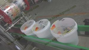 Single head bucket Film sealing machine