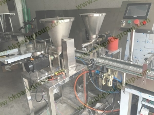 Automatic phamacy powder vials filling and sealing machine2