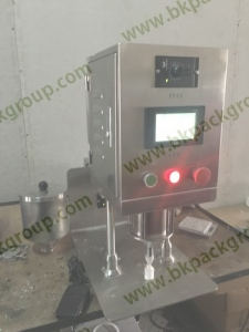 New model tabletop powder filling machine