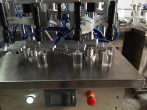 BKSLF-4V Semi Automatic 4-heads Vacuum Perfume Filler,Vacuum Perfume Liquid Filling Machine,Vacuum red wine filler