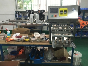 BKSS-200 2017 fasion new model tray sealing machine