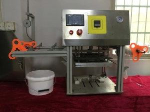 BKSS-B Semi auto big bucket sealing machine1