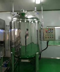 BKT-500 500L vacuum storage tank with temperature heat jacket