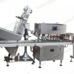 BKAC-8 Automatic liner high speed capping machine with caps feeding elevator