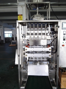 6lane back sealed stick ice lolly packing machine