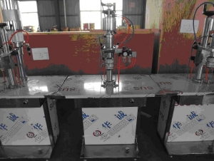 semiautomatic aerosol crimping machine-