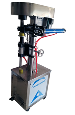 pneumatic can sealing machine