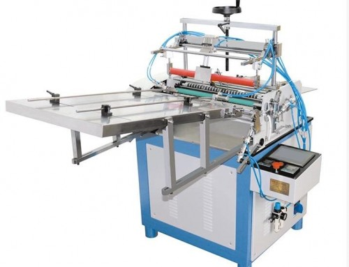 BK-500 Fully Auto hot melt adhesive labeling machine for paper tube