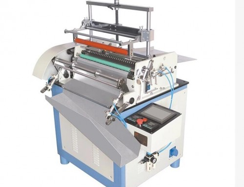 BK-500S Semi auto paper tube hot melt adhesive labeling machine
