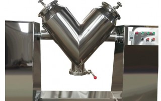 V type powder mixer