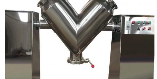 V type powder mixer