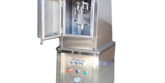 BKSS-V Semi auto vacuum can seaming machine