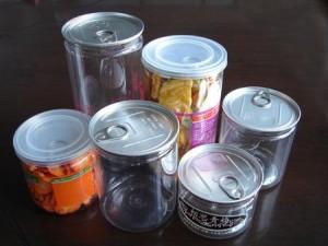 plastic jar can
