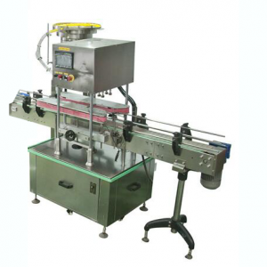 BKAC-1 Auto screw type lids feeding capping machine for plastic jar