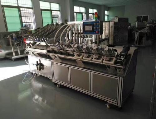 BKGF-M4Y full automatic Four heads cosmetic mask filling and sealing machine