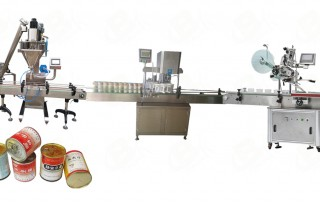 Fully automatic Single head powder filling line-